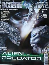 """Magazine (très bel état) - Dixième planète 31 (couverture """"Alien vs. Predator"""")"""