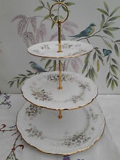 """Royal Albert """"Haworth""""  XL 3-tier cake stand ***MORE AVAILABLE***"""