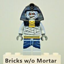 New Genuine LEGO Mummy Warrior 1 Pharaoh's Quest Minifig 7306 7326