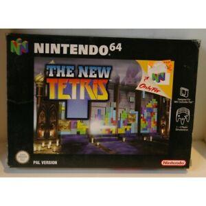 THE NEW TETRIS  NINTENDO 64  - Nuevo