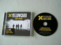 YELLOWCARD Lights And Sounds enhanced CD single with poster