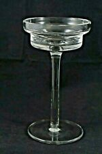 Clear Glass Long Stem Footed Votive Candle Holder Home Holiday Wedding Decor