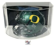 CURVED ACRYLIC WALL MOUNT FULL SIZE NFL NCAA FOOTBALL HELMET DISPLAY CASE