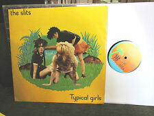 "THE SLITS Typical Girls UK 1979 ISLAND 4 track ORIGINAL 12"" budgie ep oop RARE!"