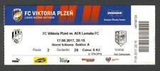Viktoria PLZEN v AEK LARNACA FC ticket UEFA Europa League 2017 football soccer