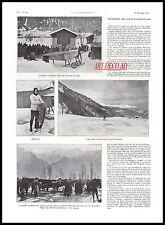 Doc.Ancien LA TRAVERSEE DES ALPES EN AEROPLANE Monoplan 1913 -3j