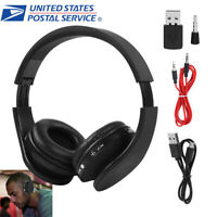 Wireless Gaming Headset Sound Headphones Bluetooth Earphone W/ MIC For Sony PS4