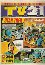 TV21 COMIC New Series No. 43 from 1970