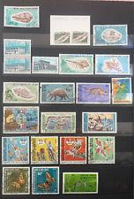 Lot 28 timbres neufs** et oblitérés AFARS ISSAS, Djibouti. Belle cote.