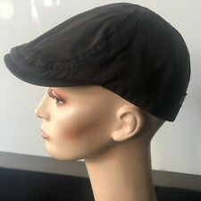 GOORIN Charcoal Soft Cotton Flatcap, Newsboy, Hat, Cap, Lined, Unisex, SM