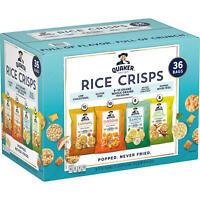Quaker Rice Crisps Variety Pack (36 pk.)