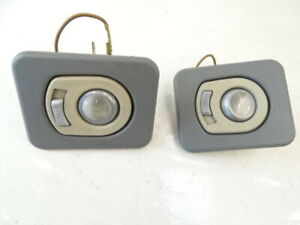 2000 Mercedes W463 G500 lamps, interior dome reading lights, (pair), gray 463820