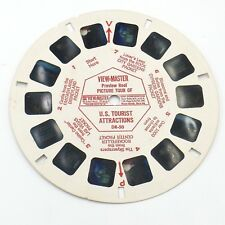 View-Master Reel # DR-50 Preview Reel Picture Tour of US Tourist Attractions