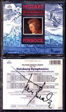 Trevor PINNOCK Signiert MOZART 15 Salzburg Symphony No.16-30 Sinfonien 4CD