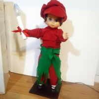 "1987 DISPLAY ARTS Animated Christmas Boy Animatronic Figure Holding Candle 24""T"