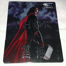 New Marvel Thor Blu-ray 3D+2D Steelbook™ Blufans 1/4 Slip