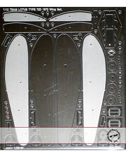 1/12 LOTUS 72D PE DETAIL WING SET for TAMIYA FITTIPALDI WISELL RINDT
