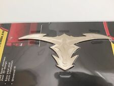 Tribal LongHorn Emblem Stainless Steel 3-D Decal Heavy Duty Trucks HD Off Road
