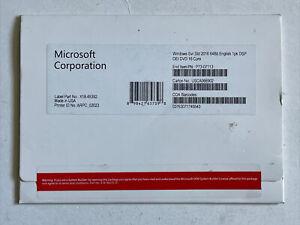 MICROSOFT Windows Server Standard 2016 x64-Bit Dvd 16 core