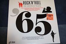 ROCK 'N' ROLL GREATEST YEARS- SEALED LASER DISC 1965, JAPAN BEACH BOYS,THE WHO