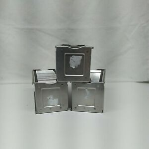 Vintage Airequipt magazine slide holders Lot of 3. Each hold 36 slides 2x2 READ!
