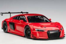 AUTOart 81601 Audi R8 FIA GT GT3 Plain Color Version Red 1:18 Scale