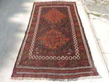 4x8ft. Handmade Afghan Sumak Wool Rug