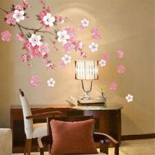 Cartel De Pared Decoración Habitación Moderno Estilo moho prueba de uso en el Hogar Pegatina de flor de cerezo