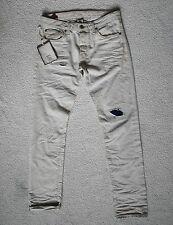 RRP 160 EUR  Jack & Jones Men Tim Royal RDD 044 White Pepper Jeans Denim W32/L34