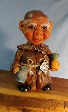 "Vintage HEICO Original Western Germany Nodder Bobble Head Priest Monk 6"" tall"