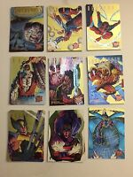 1995 FLEER ULTRA MARVEL X-MEN GOLD HUNTERS AND STALKERS you pick one Card(s) 1-9