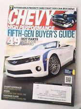 Chevy High Performance Magazine 5th Gen Buyer's Guide November 2011 031317NONRH