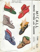 Vintage pattern for  Shoe Boots 7 dif sizes 1566 Bru Jumeau French fashion Doll