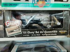 "1:18 ""American Muscle""  1955 Chevrolet  'Bel Air'  Convertible  ""Grease"""