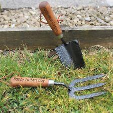 Personalised Gardening Hand Tool Set  Fork and Trovel Shovel Draper Gift Set