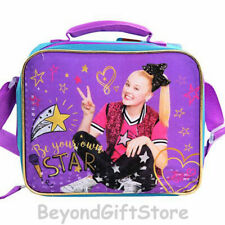 """JOJO Siwa """"Be Your Own Star"""" Insulated Lunch Bag Shoulder Strap School for Kids"""