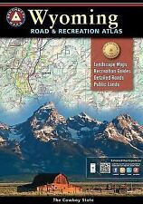 National Geographic Benchmark Wyoming WY Road & Recreation Atlas w/Maps