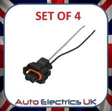 4x Diesel Injector Plug Harness fits Citroen Berlingo Peugeot Partner Alfa Romeo