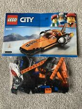 LEGO City 60178 Speed Racer Car - ALL Parts & Instructions