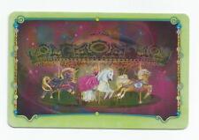 Bella Sara Spring Carnival foil shiny card S52/55 Carousel