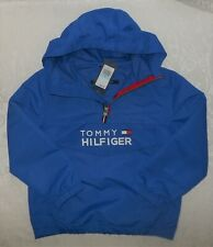 Tommy Hilfiger Boys Pullover Windbreaker Coat Hoodie 5 $70 NWT FREE SHIPPING