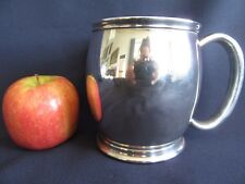 SILVER PLATED MUG LOUIS PLATE NEPCO 10X13CM NS GREAT VINTAGE CONDITION