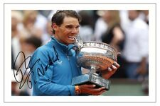 RAFA NADAL 11TH FRENCH OPEN 2018 TENNIS SIGNED AUTOGRAPH PHOTO PRINT