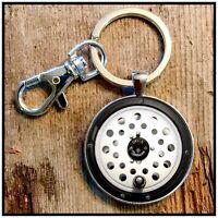 Vintage Orvis Madison fly fishing reel photo keychain key chain