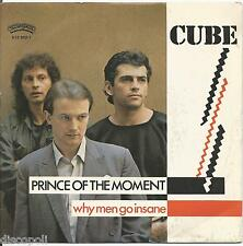 "CUBE - Prince of the moment - VINYL 7"" 45 ITALY 1983 NEAR MINT COVER VG+"
