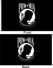 US Flag Store Double Sided 2ply nylon poly Pow Mia Flag 3x5 3 by 5 ft