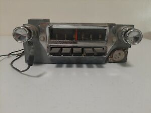 Original Ford Mustang Falcon 1964,1965, 1966 AM Radio FoMoCo