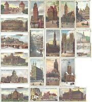 Antique Cigarette Cards Gems of Belgian Architecture Imperial Tobacco Co.