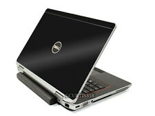 3D CARBON FIBER Vinyl Lid Skin Cover Decal fits Dell Latitude E6430 Laptop