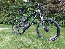 2011 TREK FUEL EX 8 Full Suspension Mountain Bike 18.5 BLACK MATTE